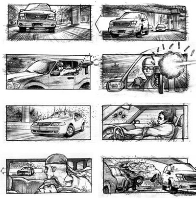 MC_Storyboardsactioncarchasesequence